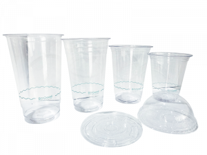 PLA Clear Cups and Lids